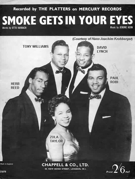 SMOKE GETS IN YOUR EYES – THE PLATTERS