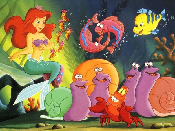 UNDER THE SEA (THE LITTLE MERMAID)