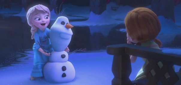 DO YOU WANT TO BUILD A SNOWMAN (FROZEN)
